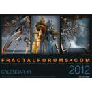 "fractalforums.com Calendar #1 2012 - ""The Mathematician, The Artist, The Programmer"""