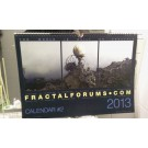 "fractalforums.com Calendar #2 2013 -""the world is built on fractals"""